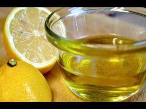 aceite de oliva y limon ayunas