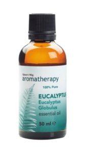 aceite de eucalipto para la tos